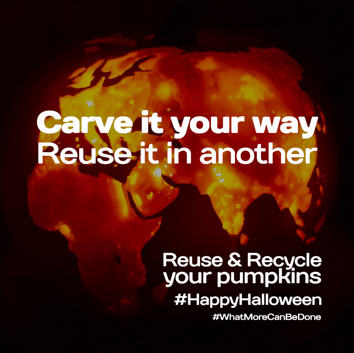 Don't miss a trick…Reuse or Recycle your Pumpkin!