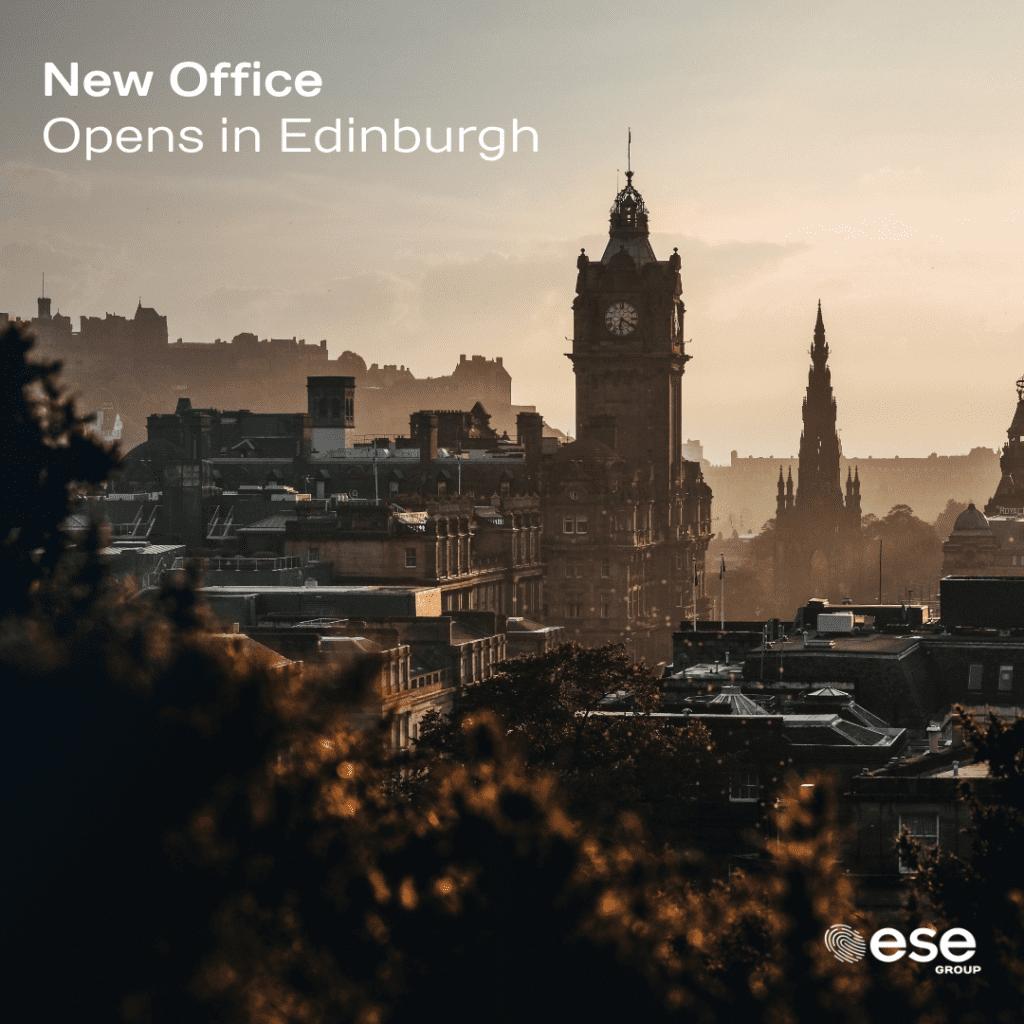 Scotland Gets Greener! ESE Group open second office in Edinburgh.