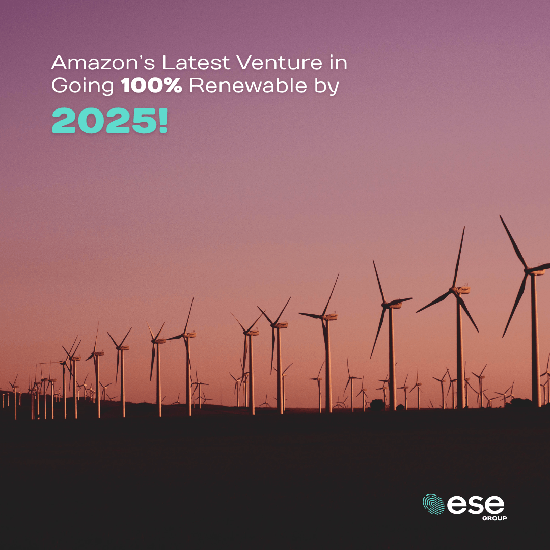 Amazon Blog 100% Renewables by 2025