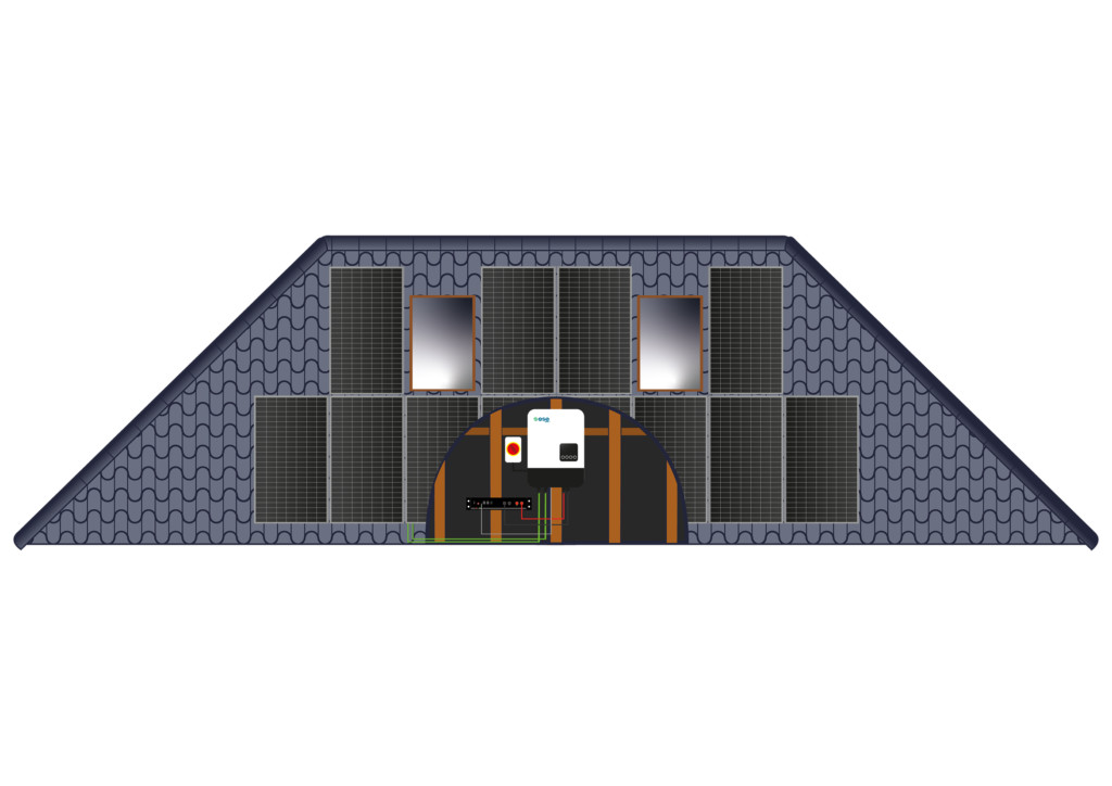 Bungalow Roof Solar Array - ESE Group
