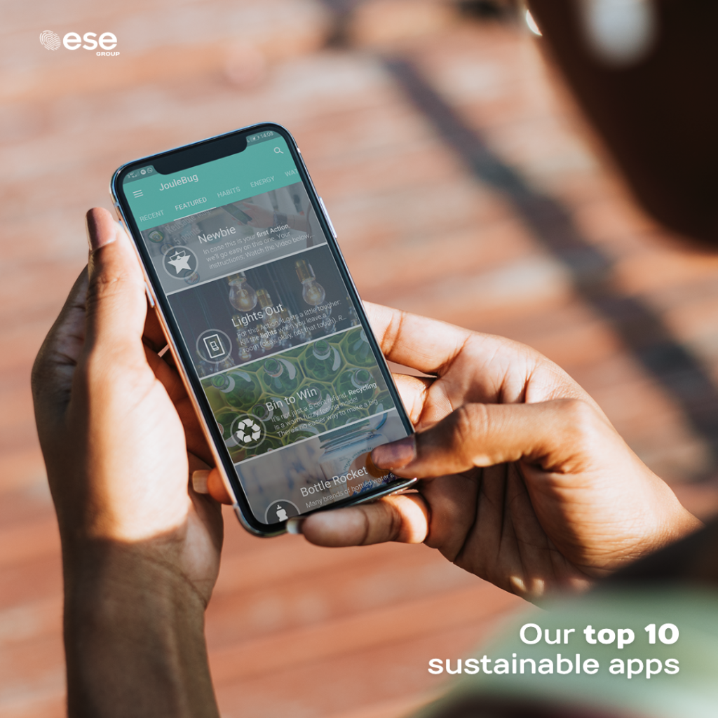 Top 10 Sustainable Apps - ESE Group