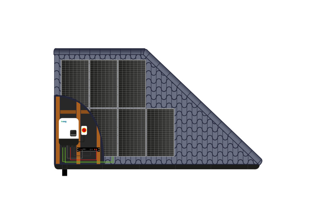 Pitched Roof Solar Array - ESE Group